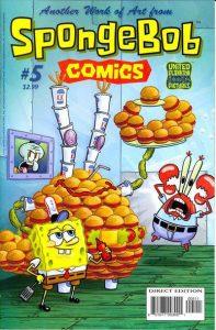 SpongeBob Comics #5 (2011)