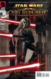 Star Wars: The Old Republic - The Lost Suns #5 (2011)