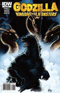 Godzilla: Kingdom of Monsters #8 (2011)