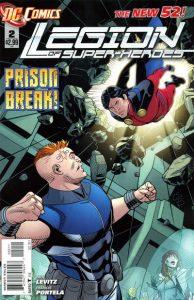 Legion of Super-Heroes #2 (2011)