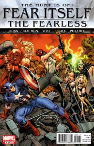 Fear Itself: The Fearless #1 (2011)