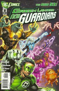 Green Lantern: New Guardians #2 (2011)