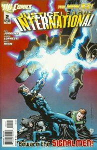 Justice League International #2 (2011)