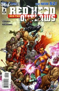 Red Hood and the Outlaws #2 (2011)