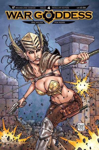 War Goddess #4 (2011)