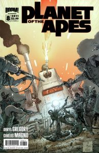 Planet of the Apes #8 (2011)