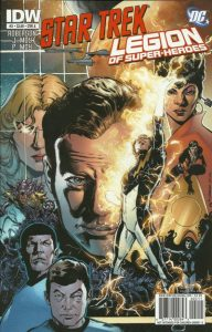 Star Trek / Legion of Super-Heroes #2 (2011)