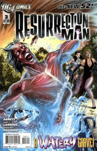 Resurrection Man #3 (2011)