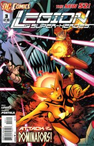 Legion of Super-Heroes #3 (2011)