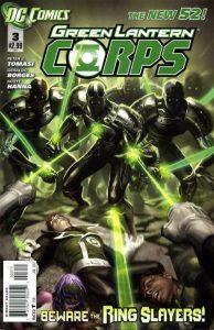 Green Lantern Corps #3 (2011)