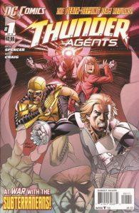 T.H.U.N.D.E.R. Agents #1 (2011)