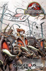 Jurassic Park: Dangerous Games #4 (2011)