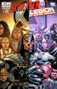 Star Trek / Legion of Super-Heroes #3 (2011)