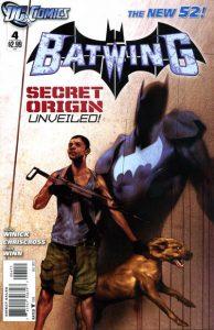 Batwing #4 (2011)