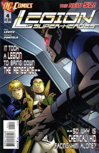 Legion of Super-Heroes #4 (2011)
