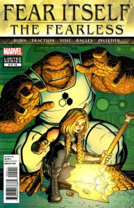 Fear Itself: The Fearless #5 (2011)