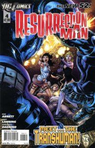 Resurrection Man #4 (2011)