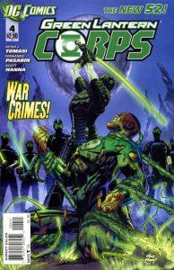 Green Lantern Corps #4 (2011)