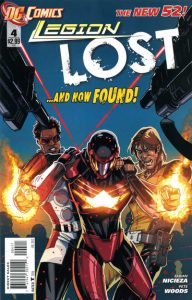 Legion Lost #4 (2011)