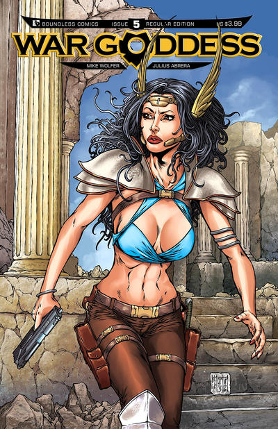 War Goddess #5 (2011)