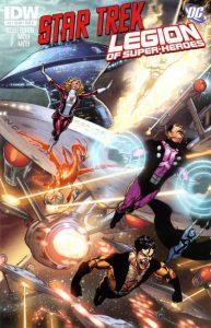 Star Trek / Legion of Super-Heroes #4 (2012)