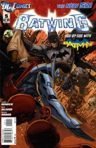 Batwing #5 (2012)