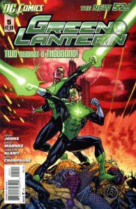 Green Lantern #5 (2012)