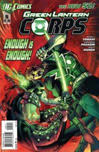 Green Lantern Corps #5 (2012)