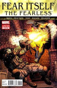 Fear Itself: The Fearless #7 (2012)