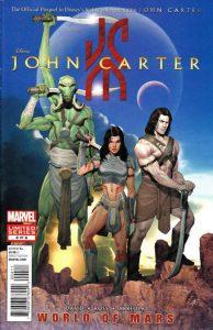 John Carter: The World of Mars #4 (2012)