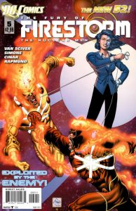 Fury of the Firestorms: The Nuclear Men #5 (2012)