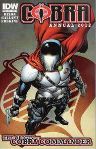 Cobra Annual 2012: The Origin of Cobra Commander #[nn] (2012)
