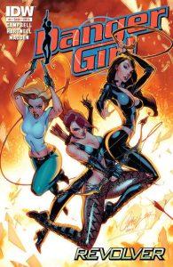 Danger Girl: Revolver #1 (2012)