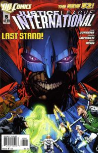 Justice League International #5 (2012)
