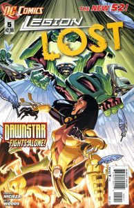 Legion Lost #5 (2012)