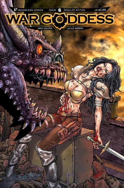 War Goddess #6 (2012)