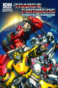 The Transformers: Robots in Disguise #1 (2012)