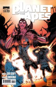 Planet of the Apes #11 (2012)