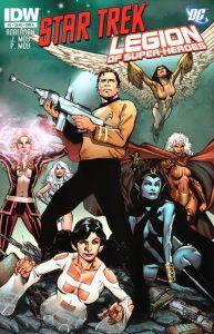 Star Trek / Legion of Super-Heroes #5 (2012)
