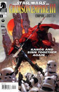 Star Wars: Crimson Empire III - Empire Lost #5 (2012)