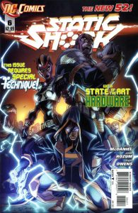 Static Shock #6 (2012)