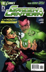 Green Lantern #6 (2012)