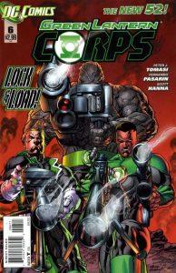 Green Lantern Corps #6 (2012)