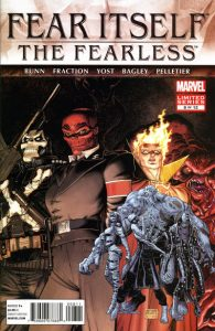 Fear Itself: The Fearless #8 (2012)