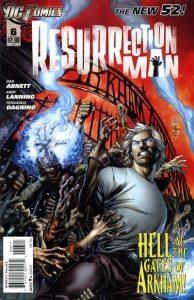 Resurrection Man #6 (2012)