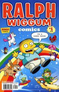 Simpsons One-Shot Wonders: Ralph Wiggum Comics #1 (2012)