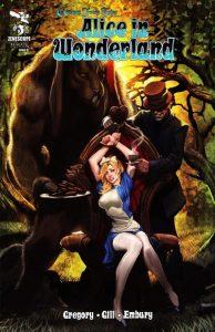 Grimm Fairy Tales Presents Alice in Wonderland #3 (2012)