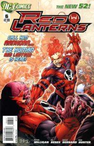 Red Lanterns #6 (2012)