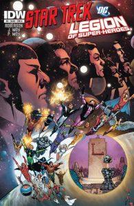 Star Trek / Legion of Super-Heroes #6 (2012)