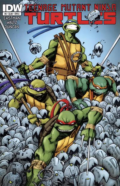 Teenage Mutant Ninja Turtles #8 (2012)
